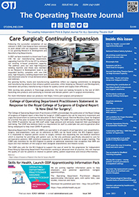 The Operating Theatre Journal June 2021